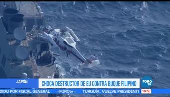 noticias, forotv, Reportan, 7 desaparecidos, choque, embarcaciones en Japón