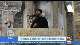 Aseguran, líder, Estado Islámico, está muerto, estado islámico, terrorismo