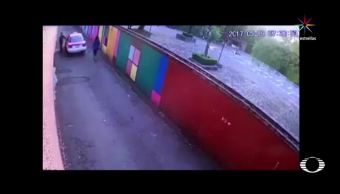 Cae, taxista, atacó, robó, joven, CDMX