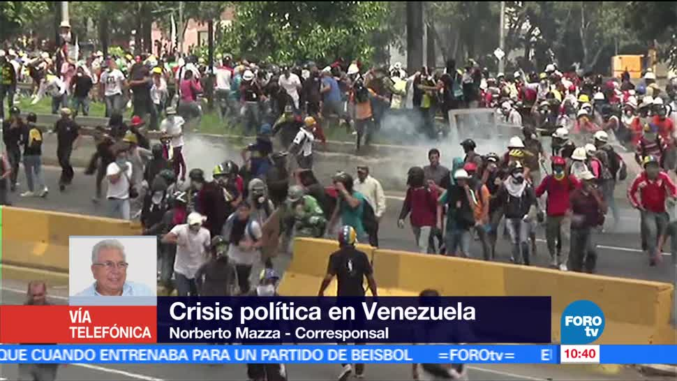crisis Política, Venezuela, Norberto Mazza, 19 mil detenidos