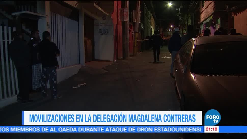 Policía, CDMX, atiende, emergencias, Magdalena Contreras, asaltos