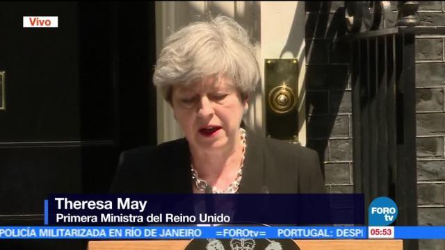 Theresa May, primera ministra británica, Londres, musulmanes