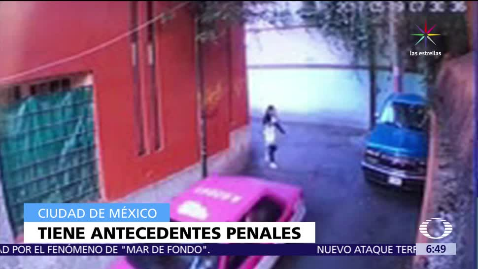 taxista, agredió a menor de edad, calles de Tlalpan, CDMX, Reclusorio Sur