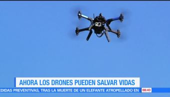 Ximena Cervantes, reportaje, drones, salvar vidas