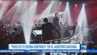 Rockeros, escenario, Auditorio Nacional, Sabo Romo