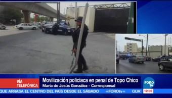 Autoridades federales, Autoridades estatales, reos de Topo Chico, penales, República Mexicana
