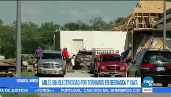 tornados, daños materiales, Nebraska, Iowa, Estados Unidos
