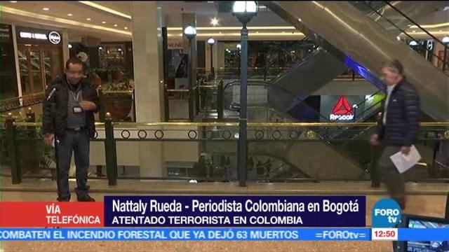 periodista colombiana, Nattaly Rueda, atentado terrorista, Colombia, muertos