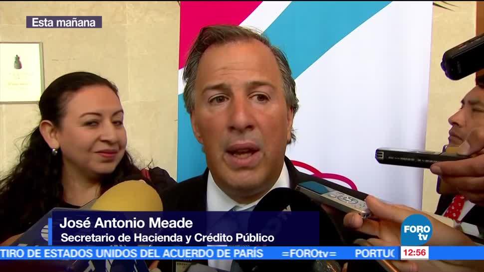 José Antonio Meade, secretario de Hacienda, México, economías, OCDE