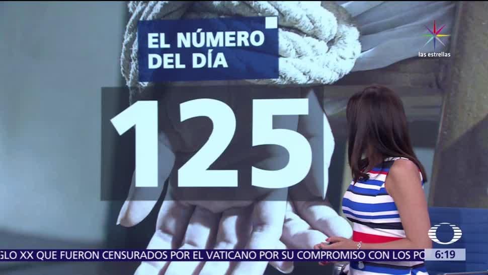 125, secuestros denunciados, México, Segob