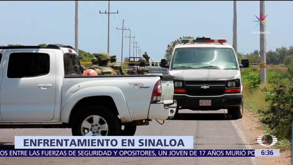presuntos delincuentes, enfrentamiento, elementos de la Marina, Culiacán, Sinaloa
