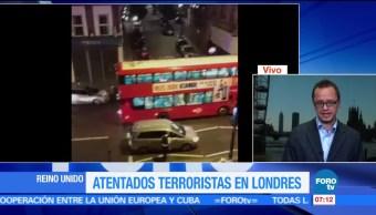 Horacio Rocha, corresponsal en Londres, atentados, Reino Unido