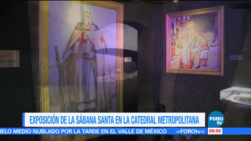 Héctor Alonso, reportaje, exposición, Sábana Santa