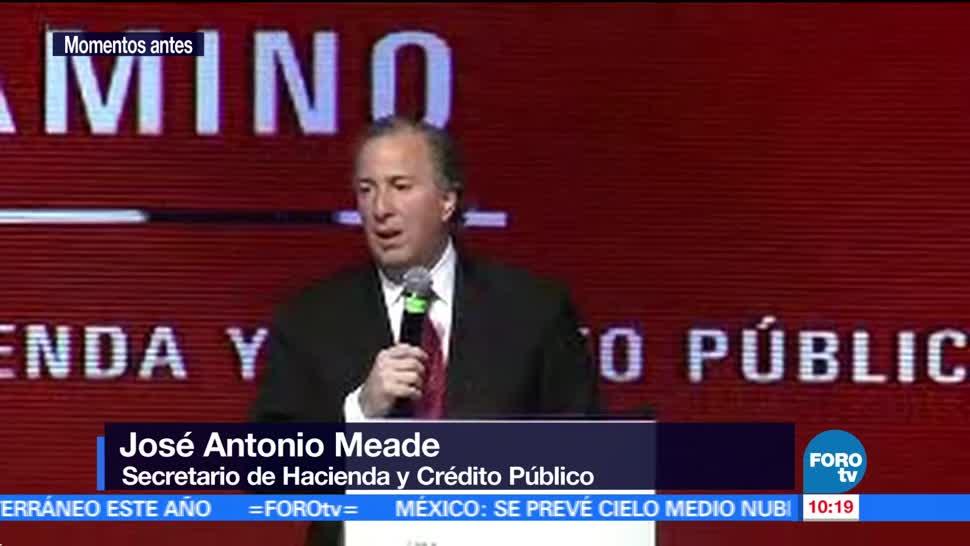 secretario de Hacienda, José Antonio Meade, foro Mujeres poderosas, estudios profesionales