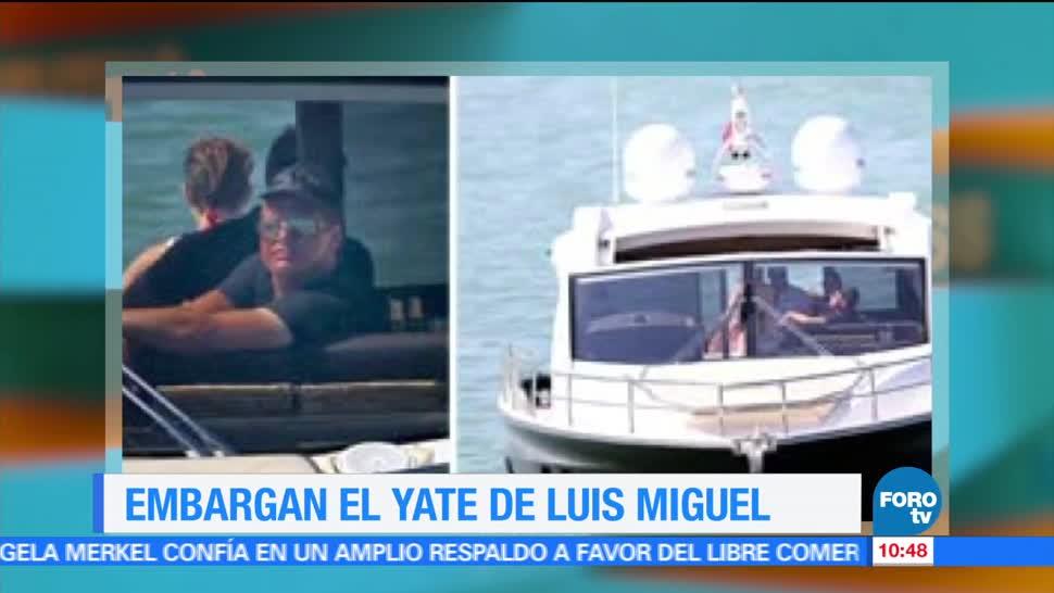 yate de Luis miguel, embargado, Miami, Estados Unidos