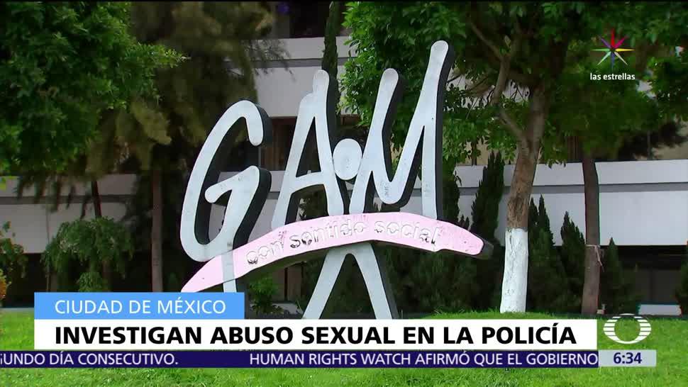 Mujer policía, CDMX, conocimiento, agresión sexual