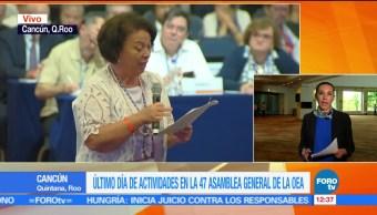 noticias, forotv, resoluciones, discuten, OEA, Asamblea General de la OEA