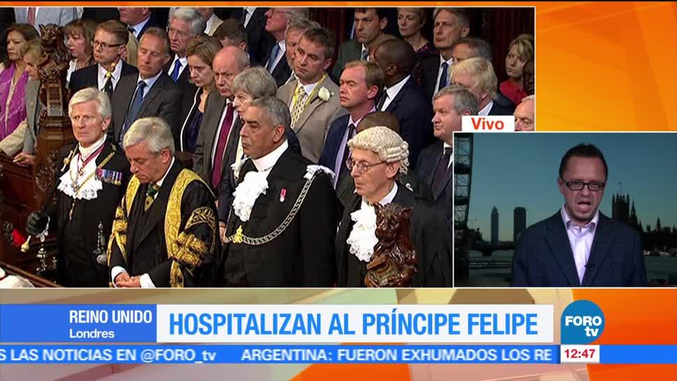 noticias, forotv, Hospitalizan, príncipe Felipe, esposo, reina Isabel II