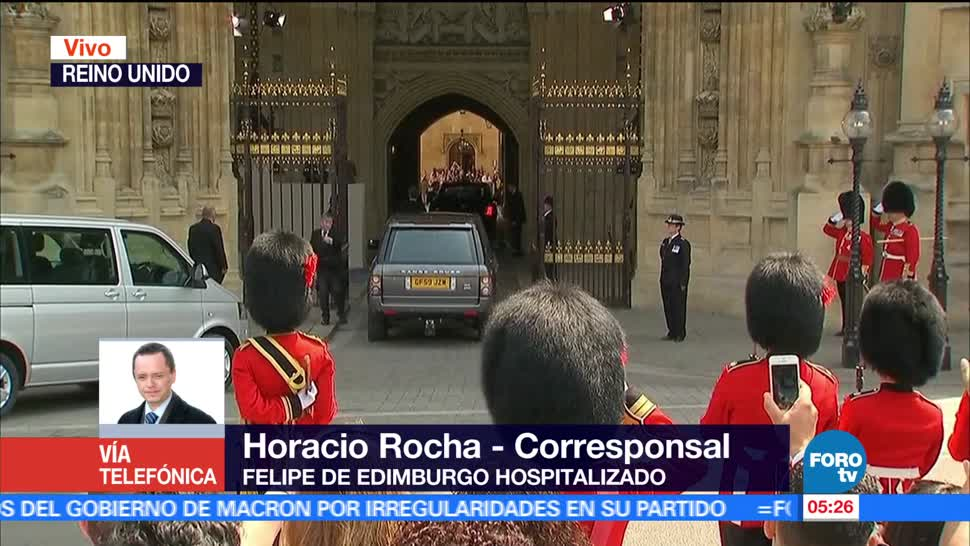 príncipe Felipe de Edimburgo, reina Isabel II, Inglaterra, hospital