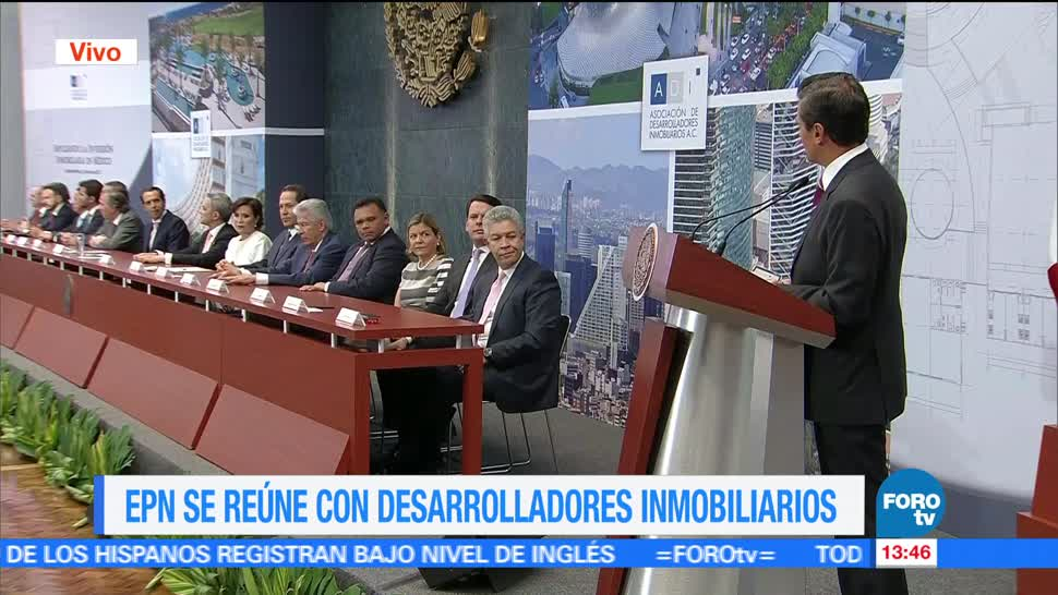 noticias, televisa, EPN, desarrolladores inmobiliarios, inmobiliarios, México