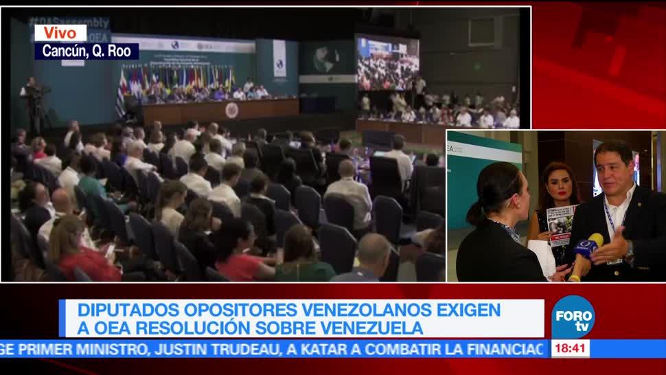 pueblo venezolano, muriendo hambre, Maduro, Luis Florido, OEA, Cancún
