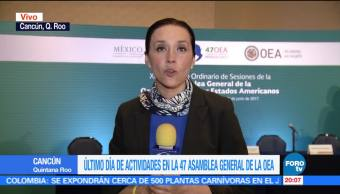 Estados, deben proteger, promover Derechos Humanos, Joel Hernández, OEA, Cancún