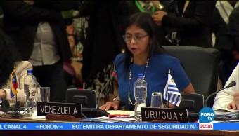 Seguiremos, defendiendo, libertad política, Venezuela, Delcy Rodríguez, excanciller