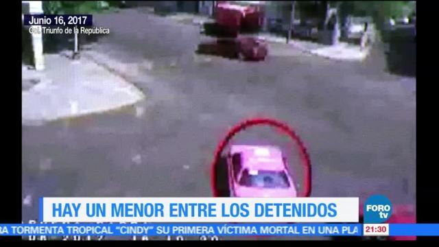 Difunden, video, secuestro express, CDMX, robo, taxi