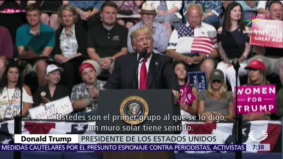 Donald Trump, miles de indocumentados, indocumentados, muro, México