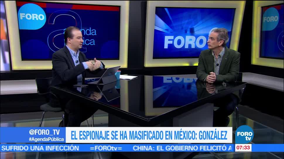 Luis Miguel González, director general editorial, El Economista, espionaje, México