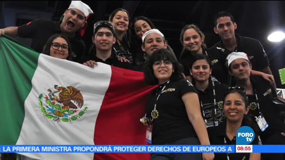 Alumnos, concurso internacional, First Robotics Competition, Houston, Estados Unidos