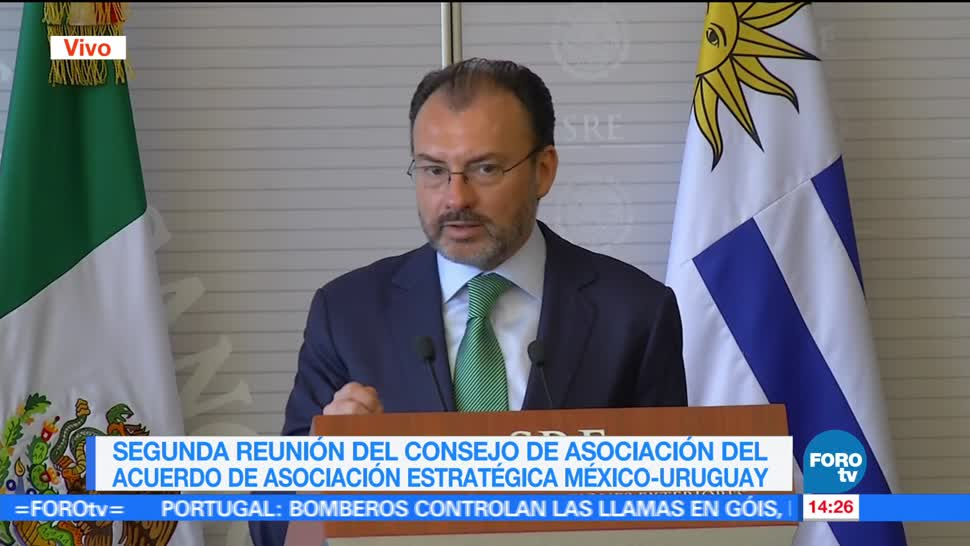 noticias, forotv, Uruguay, aliado, México, Luis Videgaray