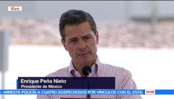 noticias, forotv, EPN, inaugura, Parque Industrial, Lagos de Moreno en Jalisco