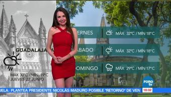 noticias, forotv, El clima, Mayte Carranco, clima, calor