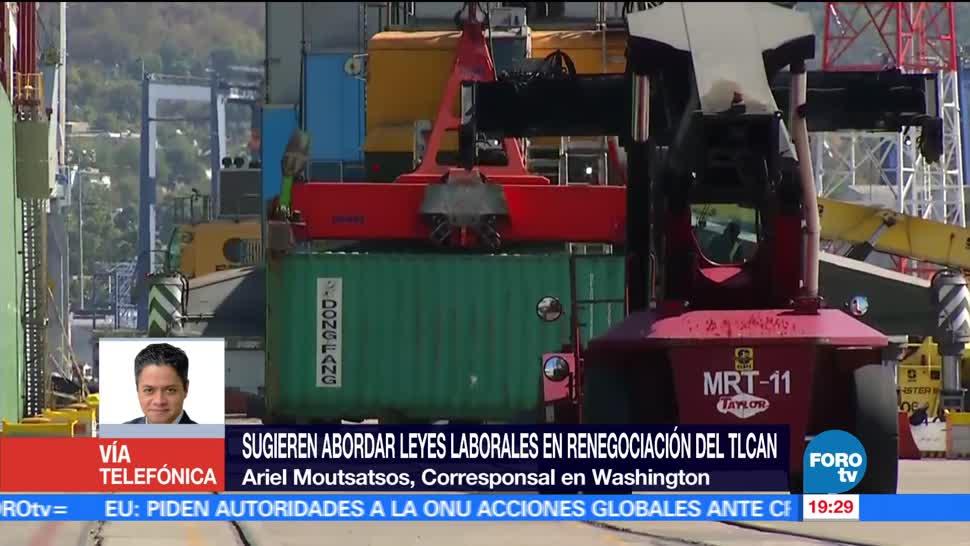 Estados Unidos, México, buscan, renegociar, estándares laborales, TLCAN