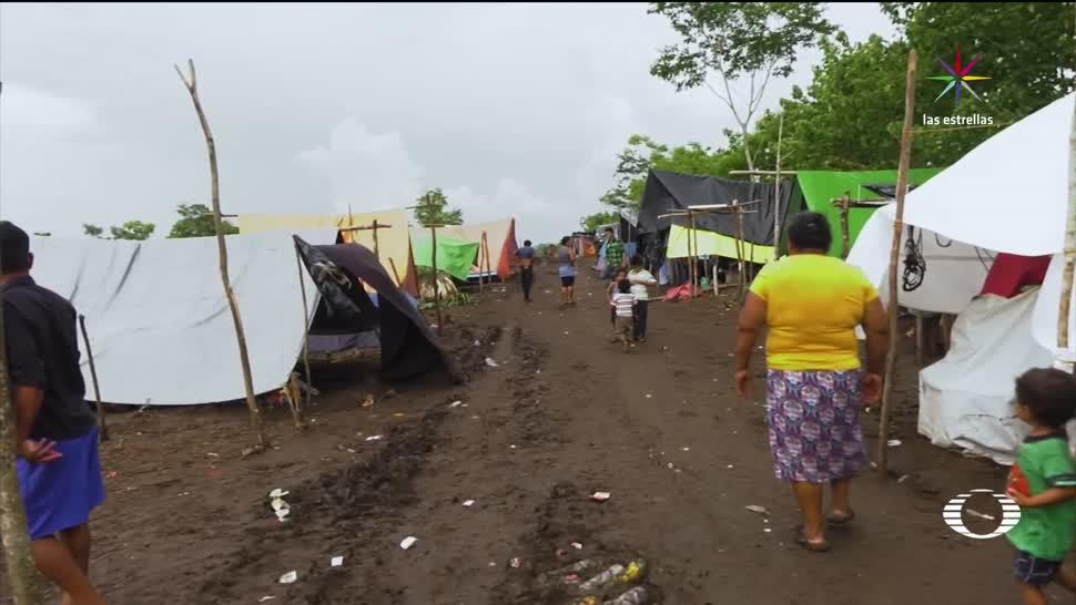El Desengaño, Campeche, refugio, guatemaltecos, desplazados, en México