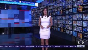 Danielle Dithurbide, Las noticias, Programa completo, Guillermo Ochoa