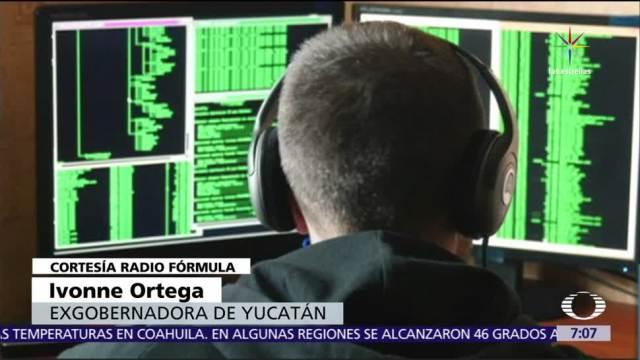 Ivonne Ortega, denuncia, espionaje, software Pegasus