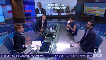 Espionaje en México, análisis, Despierta con Loret, Luis Fernando García