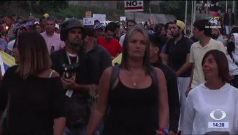 noticias, forotv, Graban, asesinato, manifestante, Venezuela