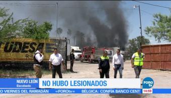 noticias, forotv, Incendio, bodega, Escobedo, NL