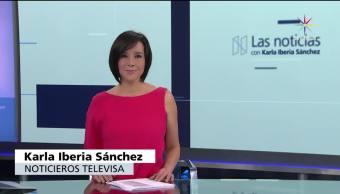 noticias, televisa, Las noticias, con Karla Iberia, Programa, 23 de junio 2017