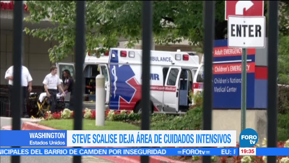 noticias, forotv, Scalise, área, cuidados intensivos, congresista republicano Steve Scalise
