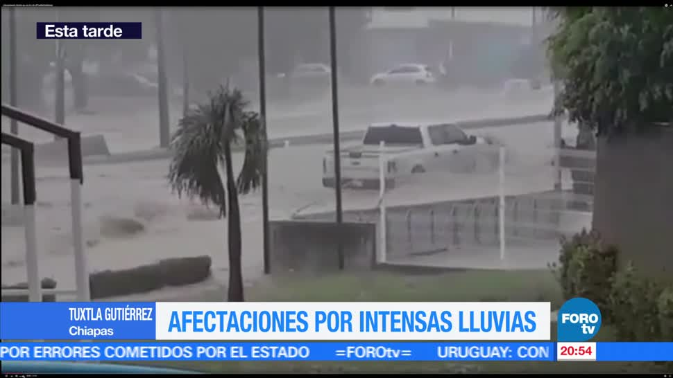 Tormenta, granizo, azotan, Tuxtla Gutiérrez Chiapas, tormenta, viernes