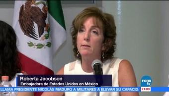Insostenible, situación de violencia, periodistas, Roberta Jacobson, Boca del Río, Veracruz