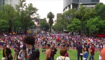 realiza, marcha, orgullo LGBTTI, CDMX