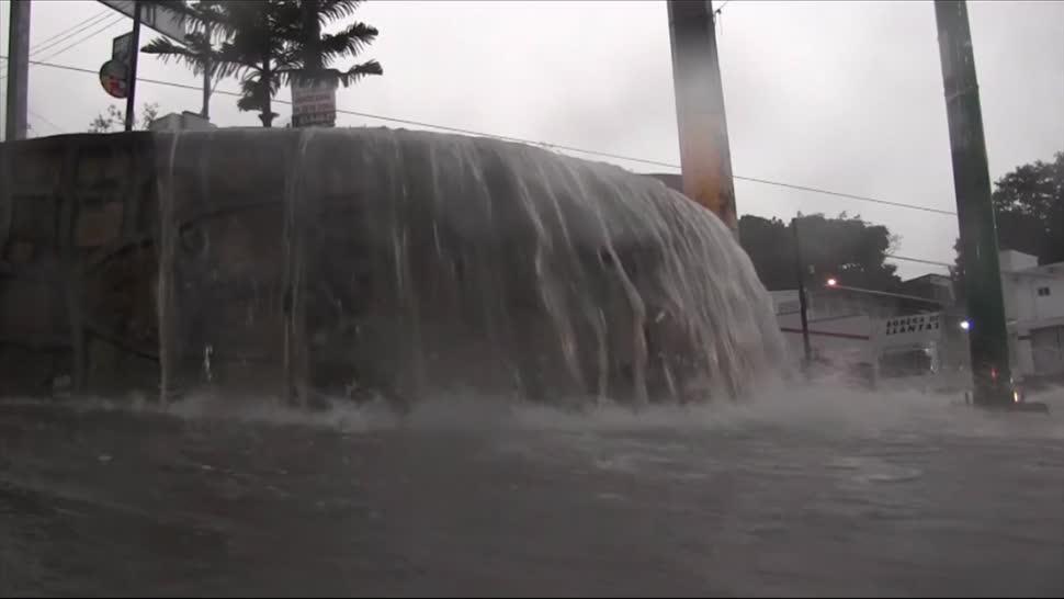 Lluvias, Tuxtla Gutiérrez, Chiapas, Daños