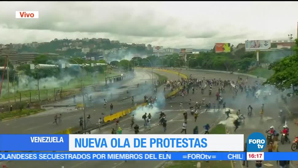 Nueva, ola de protestas, gobierno, Maduro, manifestaciones, muerte joven