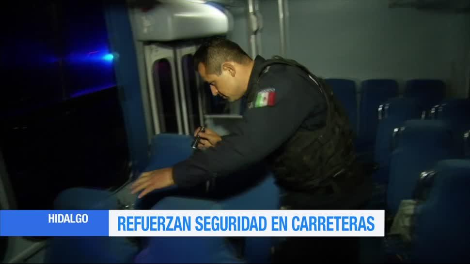 Hidalgo, refuerza, seguridad, transporte público, revisiones, pasajeros