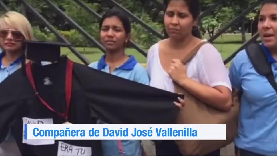 Amigos, familiares, joven, asesinado, Venezuela, piden justicia